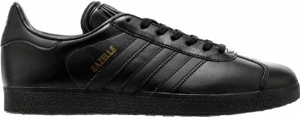 finest selection 91a5d 7a874 Adidas Gazelle Leather Black