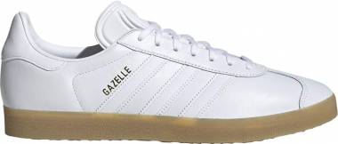 Adidas Gazelle Leather Cloud White Gum Men