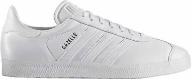 sports shoes d19a0 a7304 Adidas Gazelle Leather White Men