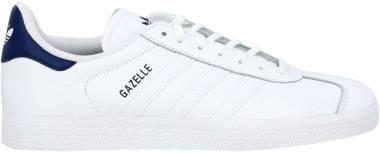 Adidas Gazelle Leather - White (FU9487)