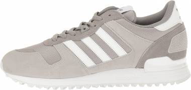 Adidas ZX 700 Solid Grey/White/Medium Grey Heather Men