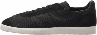Adidas Gazelle Primeknit - Black/Black/White