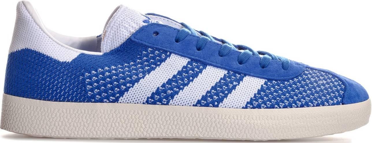 Adidas Gazelle Primeknit sneakers in grey (only $88)   RunRepeat