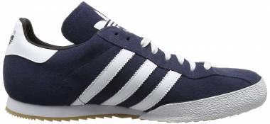 Adidas Samba Super Suede - Navy / White