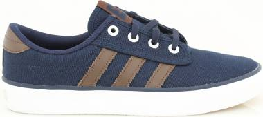 Adidas Kiel - Blue Collegiate Navy Brown Footwear White