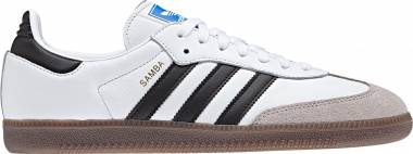 Adidas Samba OG - Ftwr White / Core Black / Core Granite (B75806)