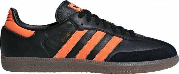 Adidas Samba OG - Core Black / Hi-res Orange-gold Metallic