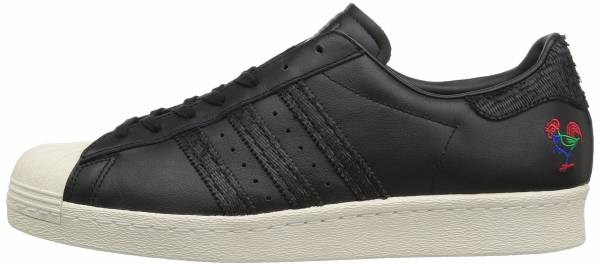 timeless design 1373f 502dd Adidas Superstar 80s CNY Black