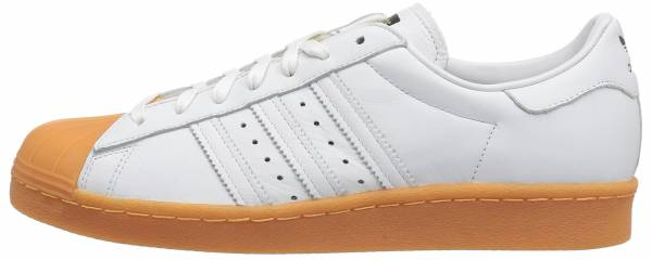 separation shoes ad1a4 a8ad2 Adidas Superstar 80s DLX White