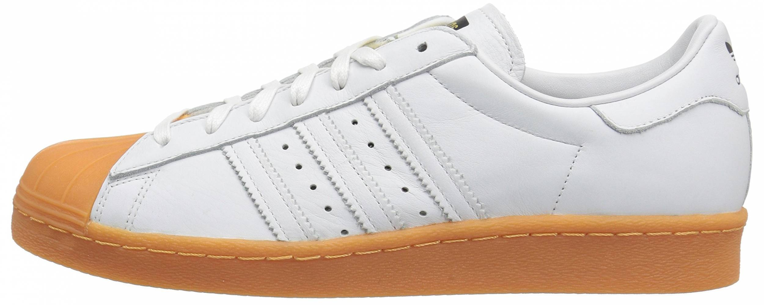 Adidas Superstar 80s DLX sneakers in white | RunRepeat