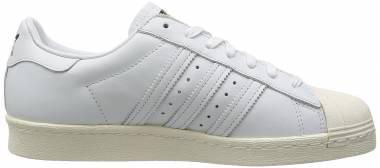 Adidas Superstar 80s DLX - Ftwr White Ftwr White Cream White (S75016)