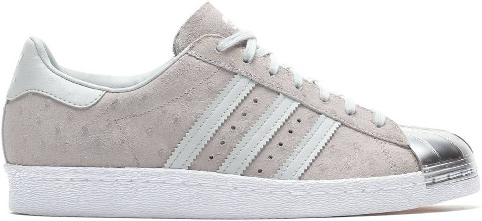 Marquesina tabaco agujas del reloj  Adidas Superstar 80s Metal Toe sneakers in white (only $40) | RunRepeat