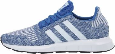 Adidas Swift Run - Bleu Blanc Bleu Ciel (EF5441)