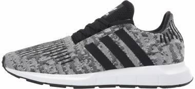 Adidas Swift Run - White/White/Black