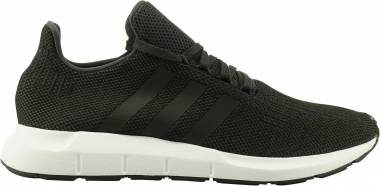 Adidas Swift Run - Black/Carbon/Core Black/Medium Grey Heather