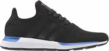Adidas Swift Run - Noir Noir Blanc (EE4444)