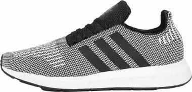 Adidas Swift Run - Black/Black/White