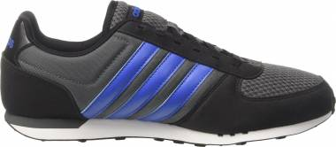 Adidas City Racer - Black Grey Five Blue Core Black (BB9686)