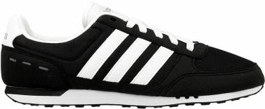 Adidas City Racer - Negro Blanco Gris Negbas Ftwbla Gris