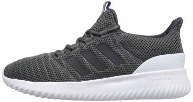 2bf442b67c70 Adidas Cloudfoam Ultimate Dark Grey White Carbon Men