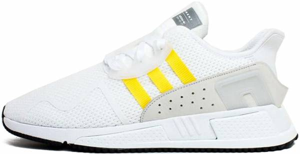 Adidas EQT Cushion ADV - Footwear White Eqt Yellow Silver Metallic