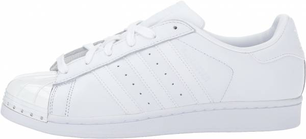 Mens Shoes Cheap Adidas Originals Superstar Foundation White / Scarlet