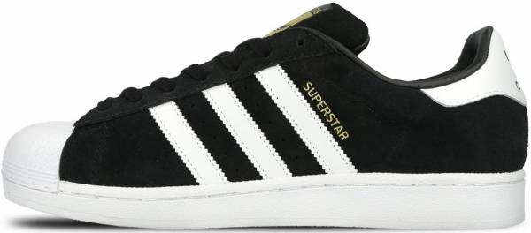 Adidas Superstar Suede Nero (Black (Core Black/Ftwr White/Core Black))