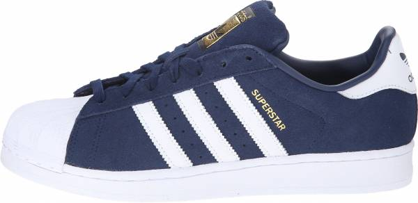 Adidas Superstar Suede Collegiate Navy/White/Collegiate Navy