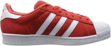 Adidas Superstar Suede - Red (S75140)