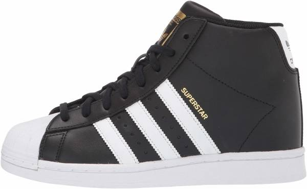 comodidad sensibilidad consumidor  Adidas Superstar UP sneakers in black (only $60) | RunRepeat
