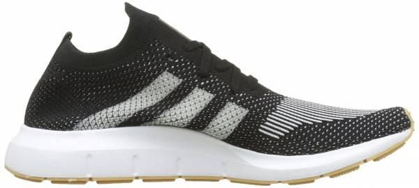 Adidas Swift Run Primeknit - Black White White