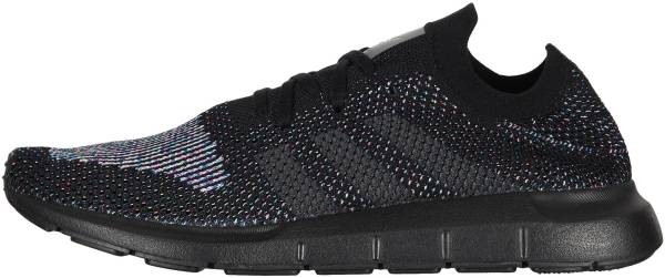 the latest ad0f3 b3b3e Adidas Swift Run Primeknit Black