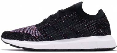 Adidas Swift Run Primeknit - Core Black Grey Five Medium Grey Heather