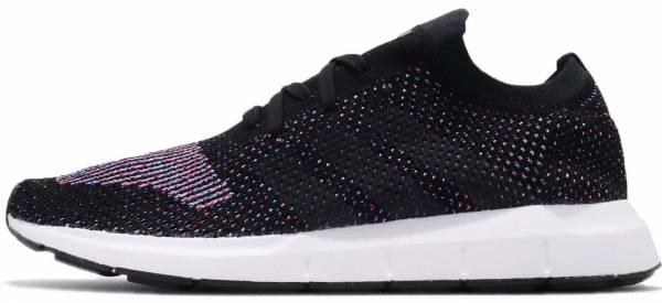 Adidas Swift Run Primeknit Core Black / Grey Five-medium Grey Heather