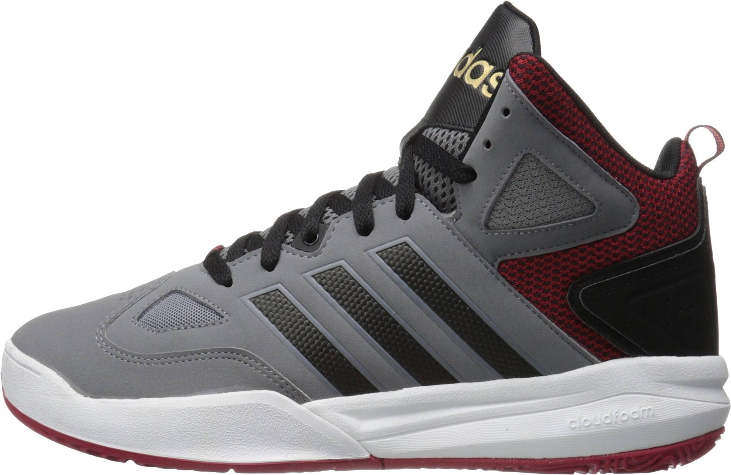 Declaración Adición Tibio  Adidas Cloudfoam Thunder Mid sneakers in grey | RunRepeat