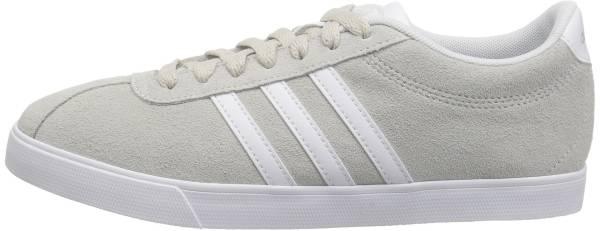 Adidas Courtset - White/White/Pea Green