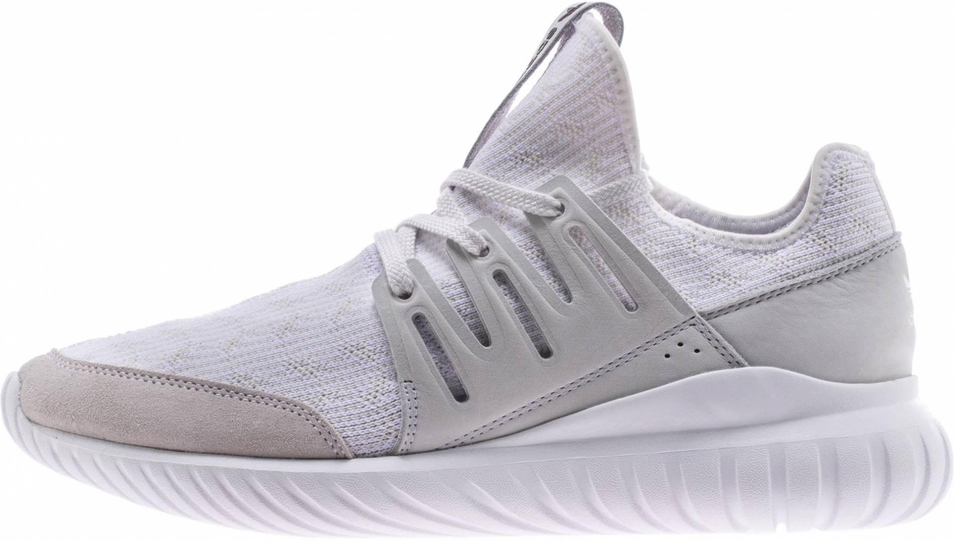 Trastorno violación paquete  Adidas Tubular Radial Primeknit sneakers in grey (only $75) | RunRepeat