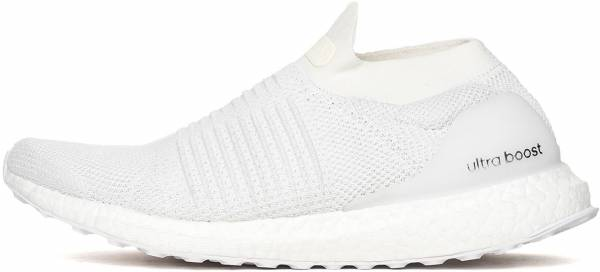 69f55e507b4b9 Adidas Ultra Boost Laceless White White Trace Scarlet. Any color. Adidas  Ultra Boost Laceless White Men
