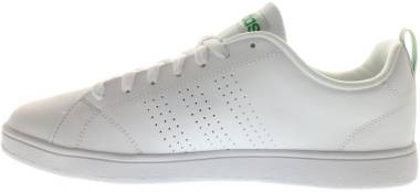 Adidas Advantage Clean VS Lifestyle - White Footwear White Footwear White Green