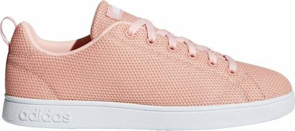 Adidas Advantage Clean VS Lifestyle - Clear Orange / Cloud White / Dust Pink (F34442)