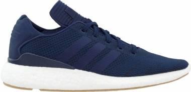 Adidas Busenitz Pure Boost Primeknit - Blue Maruni Ftwbla Gum4