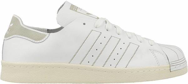 new arrival 5746a 2c135 Adidas Superstar 80s Decon White