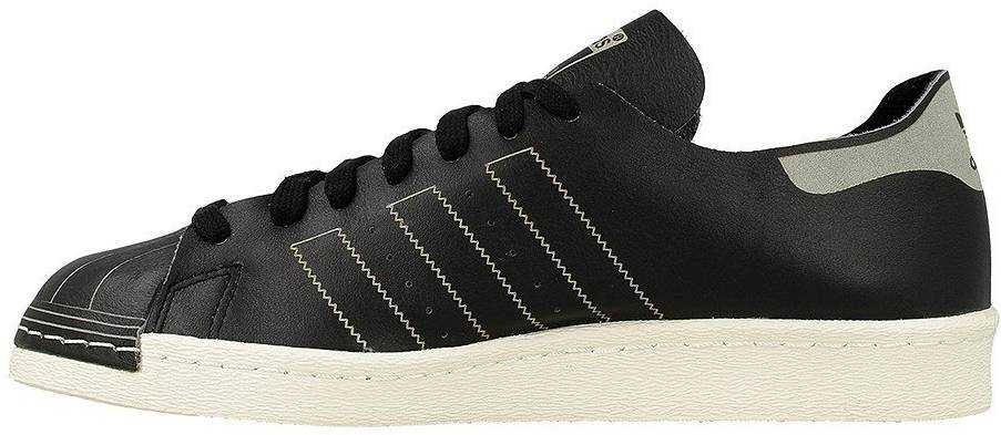 Adidas Superstar 80s Decon sneakers in white (only $60) | RunRepeat