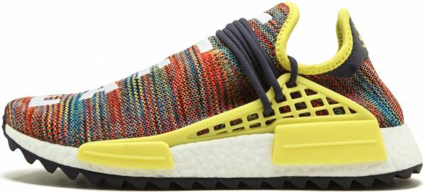 various colors 05bdc 5c34f Pharrell Williams x Adidas Human Race NMD TR Noble Ink, Bold  Yellow-footwear White