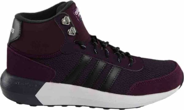 adidas neo men's cloudfoam race wtr mid running shoe