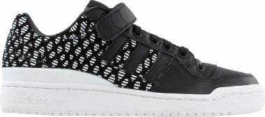 Adidas Forum Low - Black Negbas Negbas Ftwbla (BY9347)