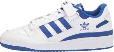 Adidas Forum Low - Ftwr White Ftwr White Team Royal Blue (FY7756)