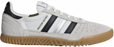 Adidas Indoor Super - Blanc (Vintage White/Core Black/Matte Silver 0)
