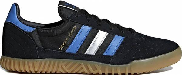 Adidas Indoor Super sneakers in black blue (only $75)