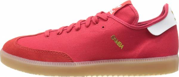 Adidas Samba MC - Scarlet/White/Gold